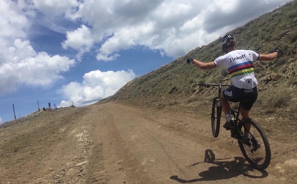 Ragioni e prospettive della scelta di Peter Sagan, che in Brasile correrà la prova di mountain bike.